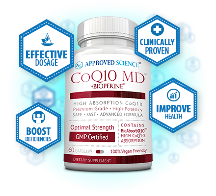 COQ10 MD Bottle Plus
